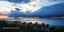 Sunset, Sonnenuntergang von Kurt Gruhlke