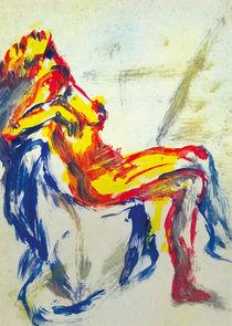 Sitting Figure | Sitzende Gestalt | Figura sentada von artistdesign