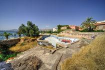 Abandoned Pool  by Rob Hawkins