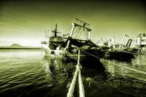 Golden Trawler  von Rob Hawkins