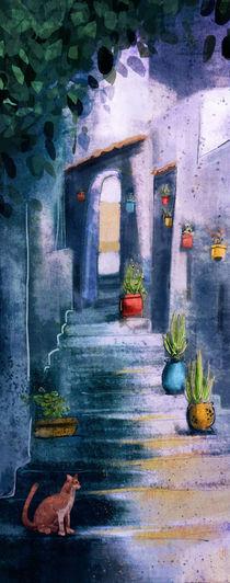 Blue Town by Natalie Gornicki