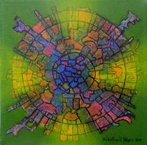 Mandala 3 von Friedhard Meyer