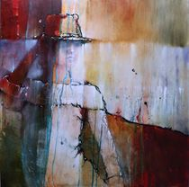 Elena mit Hut II by Annette Schmucker