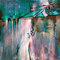 Elena mit Hut 1 - Variation 1 by Annette Schmucker