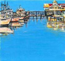 Blue Marina von Robin (Rob) Pelton