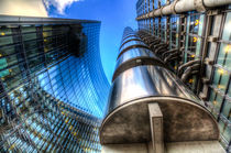 Lloyd's And Willis Group London von David Pyatt
