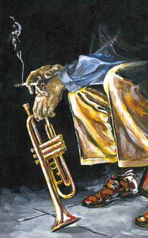 Smok'in Trumpet von Robin (Rob) Pelton