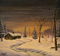 Winterlandschaft by Peter Schmidt