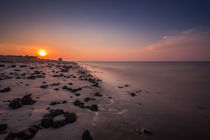 Sonnenuntergang am Strand by bildwerfer