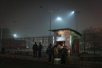 Delhi-Ticketcounter  by Stefan Frank