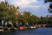 Amsterdam Riverboats von Aidan Moran