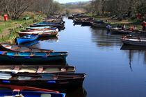 Fishing Boat Row von Aidan Moran