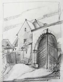 Bauerngehöft mit Torbogen by Heike Jäschke