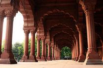 Engrailed Arches Red Fort - New Delhi von Aidan Moran