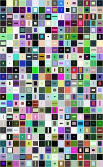 400 rectangles by Vasilis van Gemert