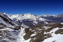 Thorung La Pass View - Annapurna - Nepal by Aidan Moran