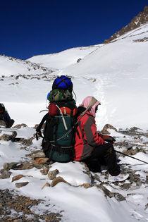 Himalayan Porter - Nepal von Aidan Moran