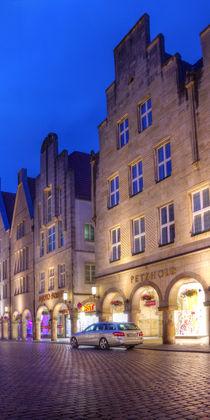 Münster (Westf.) - Prinzipalmarkt bei Nacht - Teil 3v3 von Münster Foto