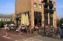 Streets Of Amsterdam  by Aidan Moran