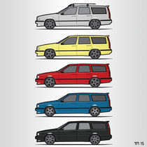 Volvo Turbo Wagons by monkeycrisisonmars