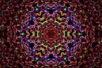 Cherry Dew Mandala von Richard H. Jones