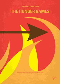 No175-1 My The Hunger Games minimal movie poster by chungkong