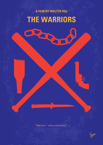 No403 My The Warriors minimal movie poster von chungkong