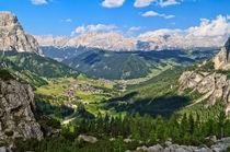 Dolomiti - Val Badia overview von Antonio Scarpi