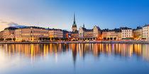 Gamla Stan in Stockholm, Sweden by Michael Abid