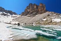 Dolomiti - lake Pisciadu von Antonio Scarpi