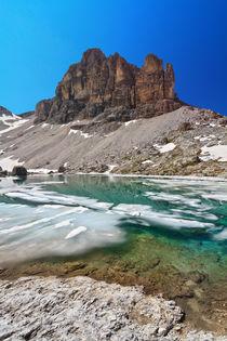 Dolomites - lake Pisciadu von Antonio Scarpi