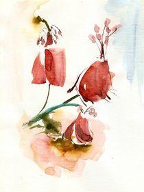 'red flowers' von Ioana  Candea