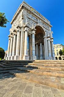 memorial in Piazza Della Vittoria von Antonio Scarpi