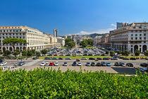 Genova - Piazza della Vittoria overview von Antonio Scarpi