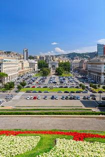 Piazza della Vittoria - Genova von Antonio Scarpi