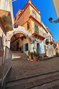 Sardinia - urban view in Carloforte by Antonio Scarpi