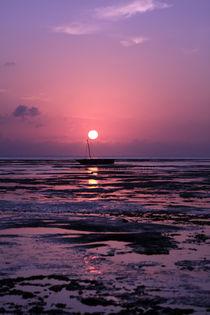 'Zanzibar Island Sunrise' von Aidan Moran