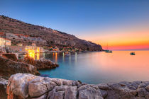 Sunset in Limeni, Greece  by Constantinos Iliopoulos
