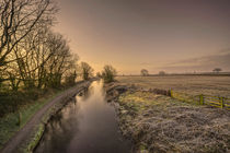 Battens Bridge Frost  von Rob Hawkins