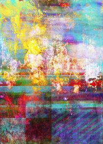 Abstrakt Nr 122 von Wolfgang Rieger
