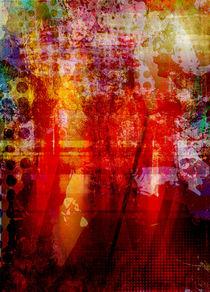 Abstrakt Nr 123 von Wolfgang Rieger