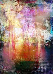 Abstrakt Nr 127 von Wolfgang Rieger