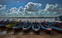 Tropical boats  by Srdjan Petrovic