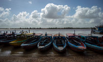 Tropical boats  von Srdjan Petrovic