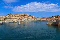 Portoferraio - view from the sea by Antonio Scarpi