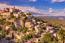 The village of Gordes in the south of France by Sara Winter