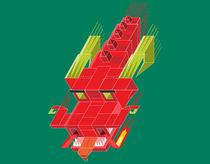 Ancient cube dragon by daniac