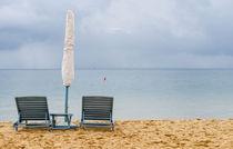 Sonne, Strand und Meer: Liegestühle by Tobias Koch