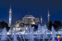 'Blaue Moschee' von Stefan Hafner