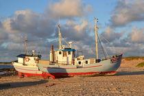 Fischerboote by Ute Bauduin